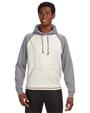 J America J8885  Vintage Heather Pullover Hood at GotApparel