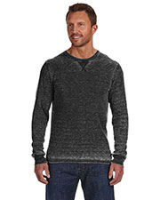 J America JA8241 Men Vintage Zen Thermal Long-Sleeve T-Shirt at GotApparel