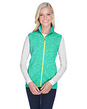 J America JA8625 Women 7.0 oz Lasic Cosmic Fleece Vest at GotApparel