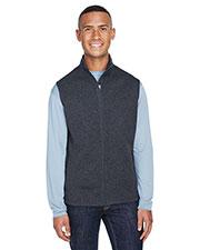 J America JA8631 Men 7.0 oz Cosmic Fleece Vest at GotApparel