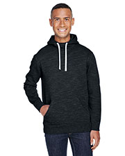 Adult Melange Fleece Pullover Hood at GotApparel