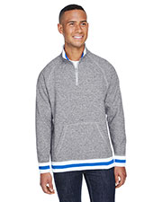 Adult Peppered Fleece Quarter-Zip at GotApparel