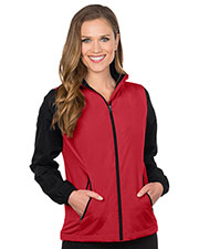 Tri-Mountain JL1480 Women Midweight Fleece-Lined Jacket at GotApparel