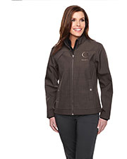 TRI-MOUNTAIN GOLD JL6468 Women Oakbrook Bonded Zip Jacket at GotApparel