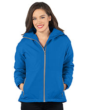 Tri-Mountain JL8850 Women Hooded Honeycomb Poly/Fleece Jacket at GotApparel