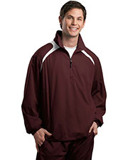 Sport-Tek JST75 Men 1/2-Zip Wind Shirt at GotApparel