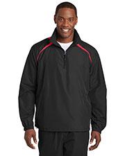 Sport-Tek JST75 Men 1/4-Zip Wind Shirt at GotApparel