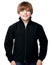 TRI-MOUNTAIN PERFORMANCE JY6380 Boys Quest Jacket With Top Yoke And Slash Pocket at GotApparel