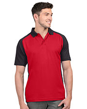 Tri-Mountain K019 Men Colorblock Polo at GotApparel