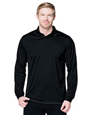 Tri-Mountain K020LS Men Performance Vital Long Sleeve Polo Shirt at GotApparel