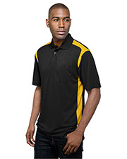 TRI-MOUNTAIN PERFORMANCE K145P Men Blitz Pocket Short Sleeve Golf Shirt at GotApparel