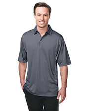 TRI-MOUNTAIN PERFORMANCE K411 Men Innovate Knit Short Sleeve Golf Shirt at GotApparel