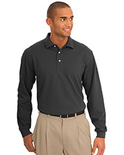 Port Authority TLK455LS Men's Tall Rapid Dry™ Long-Sleeve Polo at GotApparel