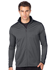 Tri-Mountain K535 Men Lightweight Hybrid Performance Jacket at GotApparel