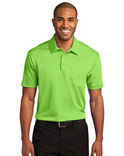 Port Authority K540P Men Silk Touch™ Performance Pocket Polo at GotApparel