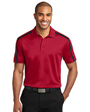 Port Authority K547 Men Silk Touch™ Performance Colorblock Stripe Polo at GotApparel