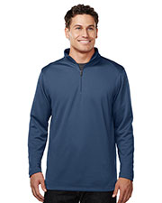 TRI-MOUNTAIN PERFORMANCE K628 Men Cleton Long Sleeve With Tmp Puller at GotApparel