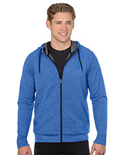 Tri-Mountain K637 Men Tri-Blend French Terry Hoody at GotApparel