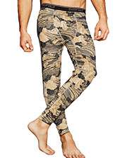 Duofold by Champion KDC2P Men THERMatrix Printed Pants at GotApparel