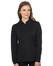 Tri-Mountain KL030LS Women Long Sleeve Snag-Resistant Polo at GotApparel