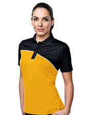 TM Performance KL147 Women's Elite Short-Sleeve Golf Shirt at GotApparel