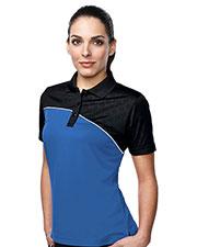 TM Performance KL147 Women's Elite Short-Sleeve Golf Shirt at GotApparel