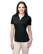 TRI-MOUNTAIN PERFORMANCE KL411 Women Innovate Knit Short Sleeve Golf Shirt at GotApparel