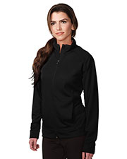 TRI-MOUNTAIN PERFORMANCE KL630 Women Exocet Knit Full Zip Jacket at GotApparel
