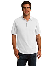 Port & Company KP155 Men 50/50 Pique Polo at GotApparel