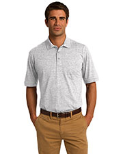 Port & Company KP55P Men 55Ounce Jersey Knit Pocket Polo at GotApparel