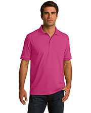 Port & Company KP55T Men Tall 55Ounce Jersey Knit Polo at GotApparel