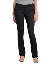 Dickies KP7718 Women Schoolwear Classic Fit Straight-Leg Twill Stretch Pant at GotApparel
