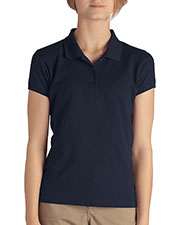 Dickies KS3952 Girls Short-Sleeve Pique Polo at GotApparel