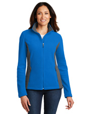 Port Authority L216 Women Colorblock Value Fleece Jacket at GotApparel