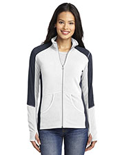 Port Authority L230 Women Colorblock Microfleece Jacket at GotApparel