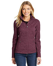 Port Authority L231 Women's Digi Stripe Fleece Jacket at GotApparel