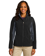 Port Authority L318 Women Core Colorblock Soft Shell Jacket at GotApparel