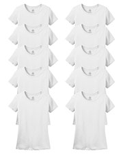 Fruit Of The Loom L3930R Women 5 Oz. 100% Heavy Cotton Hd T-Shirt 10-Pack at GotApparel