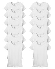Fruit Of The Loom L3930R Women 5 Oz. 100% Heavy Cotton Hd T-Shirt 12-Pack at GotApparel