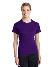 Sport-Tek L473 Women Dry Zone Raglan Accent T-Shirt at GotApparel