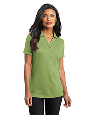 Port Authority L520 Women Silk Touch™ Interlock Polo at GotApparel
