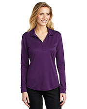 Port Authority L540LS Women Silk Touch™ Performance Long Sleeve Polo at GotApparel