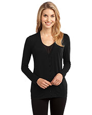 Port Authority L545 Women Concept Y-Neck Cardigan at GotApparel