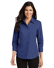 Port Authority L612 Women 3/4-Sleeve Easy Care Shirt at GotApparel