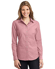 Port Authority L653 Women Chambray Shirt at GotApparel