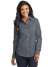 Port Authority L658 Women SuperPro ™ Oxford Shirt at GotApparel