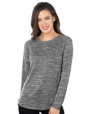 Tri-Mountain LB246 Women Long Sleeve Crewneck at GotApparel