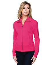 Tri-Mountain LB674 Women Anna Fleece Full Zip Jacket at GotApparel
