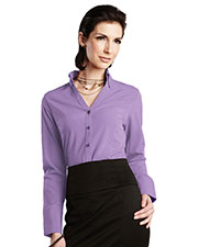LILAC BLOOM LB757 Women Meredith Long Sleeve Woven Shirt at GotApparel