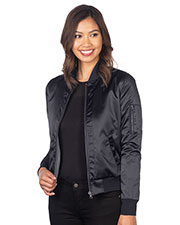 Tri-Mountain LB8872 Women Reversible Bomber Jacket at GotApparel